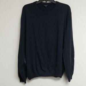 Burberry Navy Blue Long Sleeve Sweatshirt Size XL